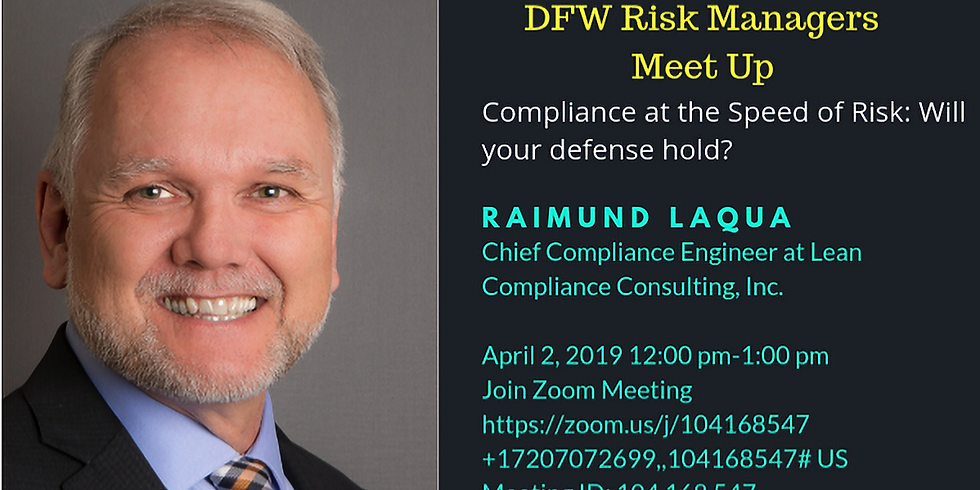 Compliance at the Speed of Risk - Will your Defense Hold