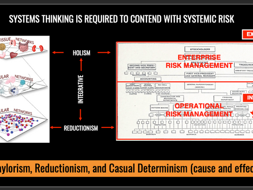 To Address Systemic Risk You Need Systems Thinking