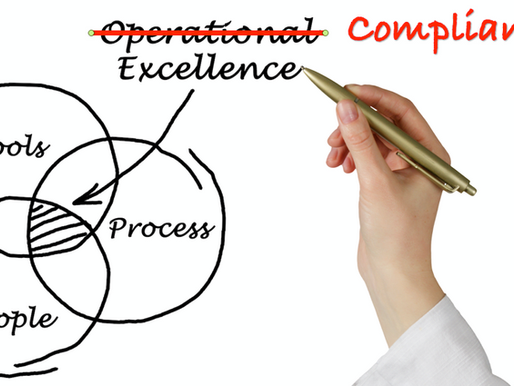 Why we need Compliance Excellence