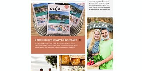 Isla travel - Magazin