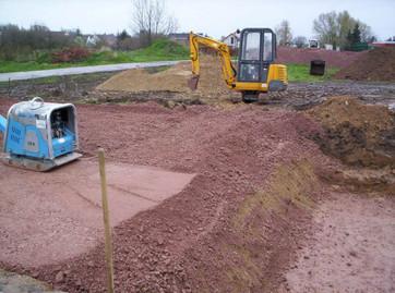 Neubau von Tank- und Waschplätzen