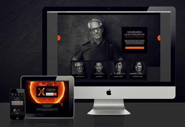 SANXALER Website
