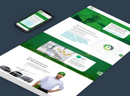 Wieczorek-Gruppe Logos und Websites