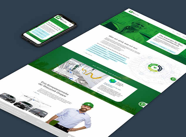 Wibautec - Website