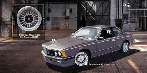 B&K BMW - 635 Csi Konfigurator