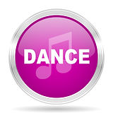 dance music pink modern web design gloss
