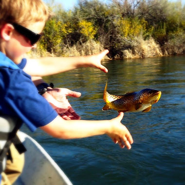 Fishing on the Bighorn River
