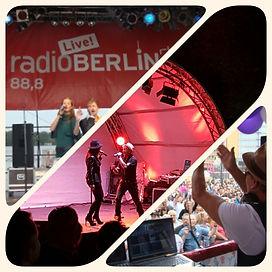 Livegesang für alle Events in Berlin und Brandenburg - mit Dj Henry und Sängerin als Colours of Voice