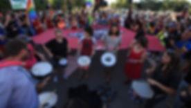הפגנה למען הקהילה הגאה בבאר שבע, במארס.j
