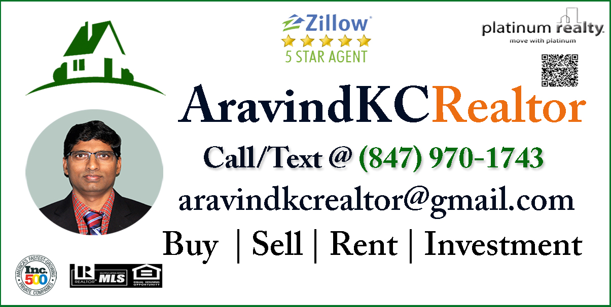 AravindKCRealtor Business Card