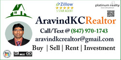 AravindKCRealtor Business Card