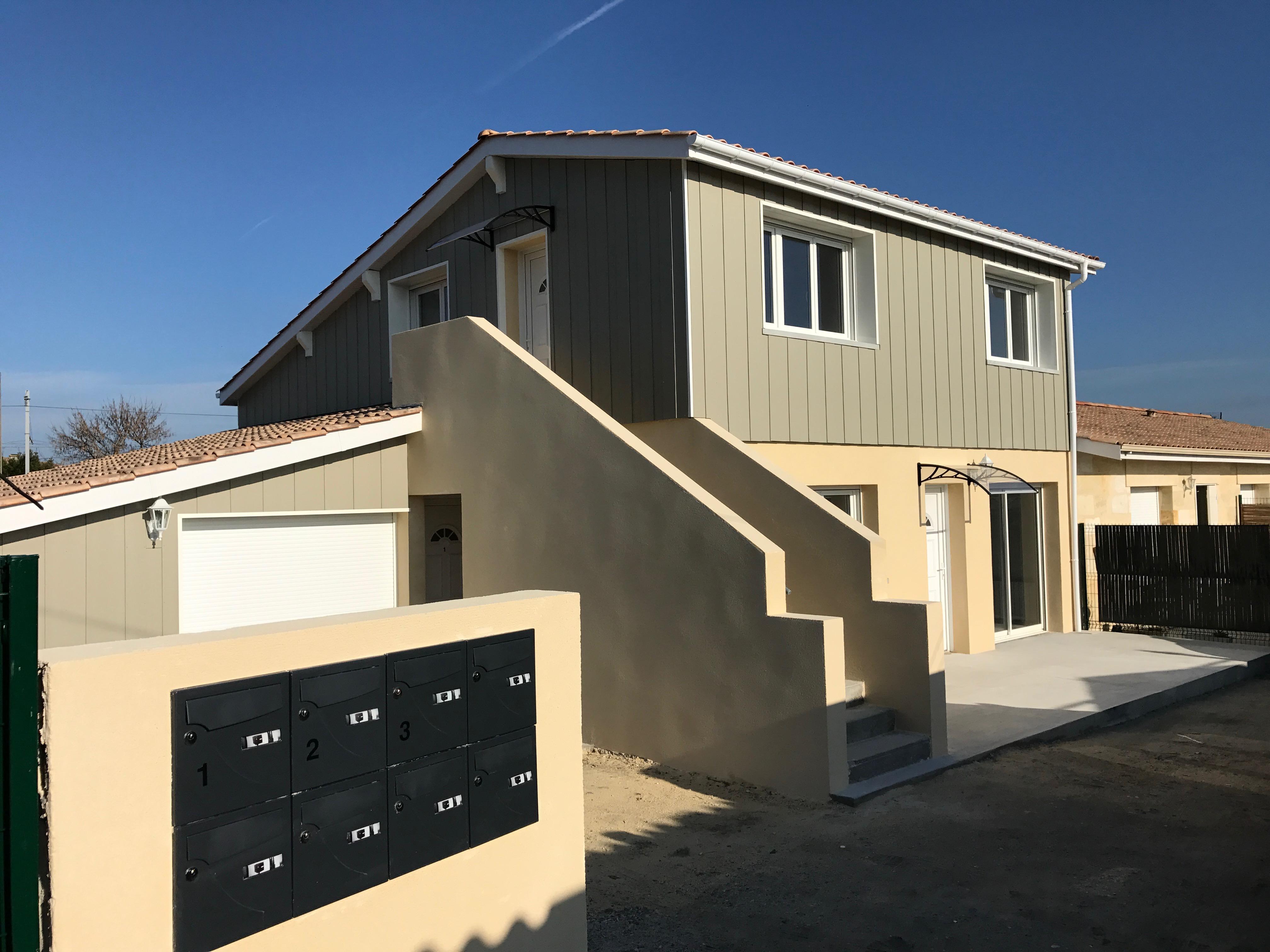 Construction 3 appartements - Après