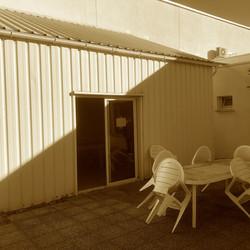 Extension d'une salle de repos - Avant