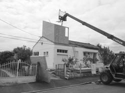Surélévation d'une maison - Avant