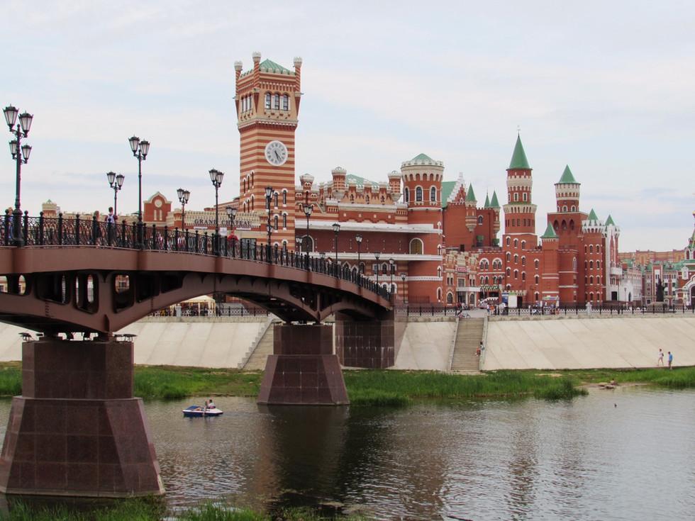 Европейские выходные в Поволжье: Йошкар-Ола и Чебоксары (13-14.08.2016), день первый