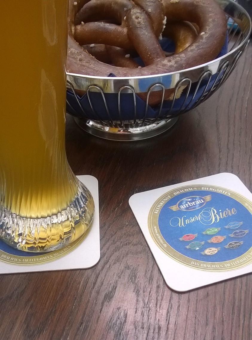 Пиво в Air Brau