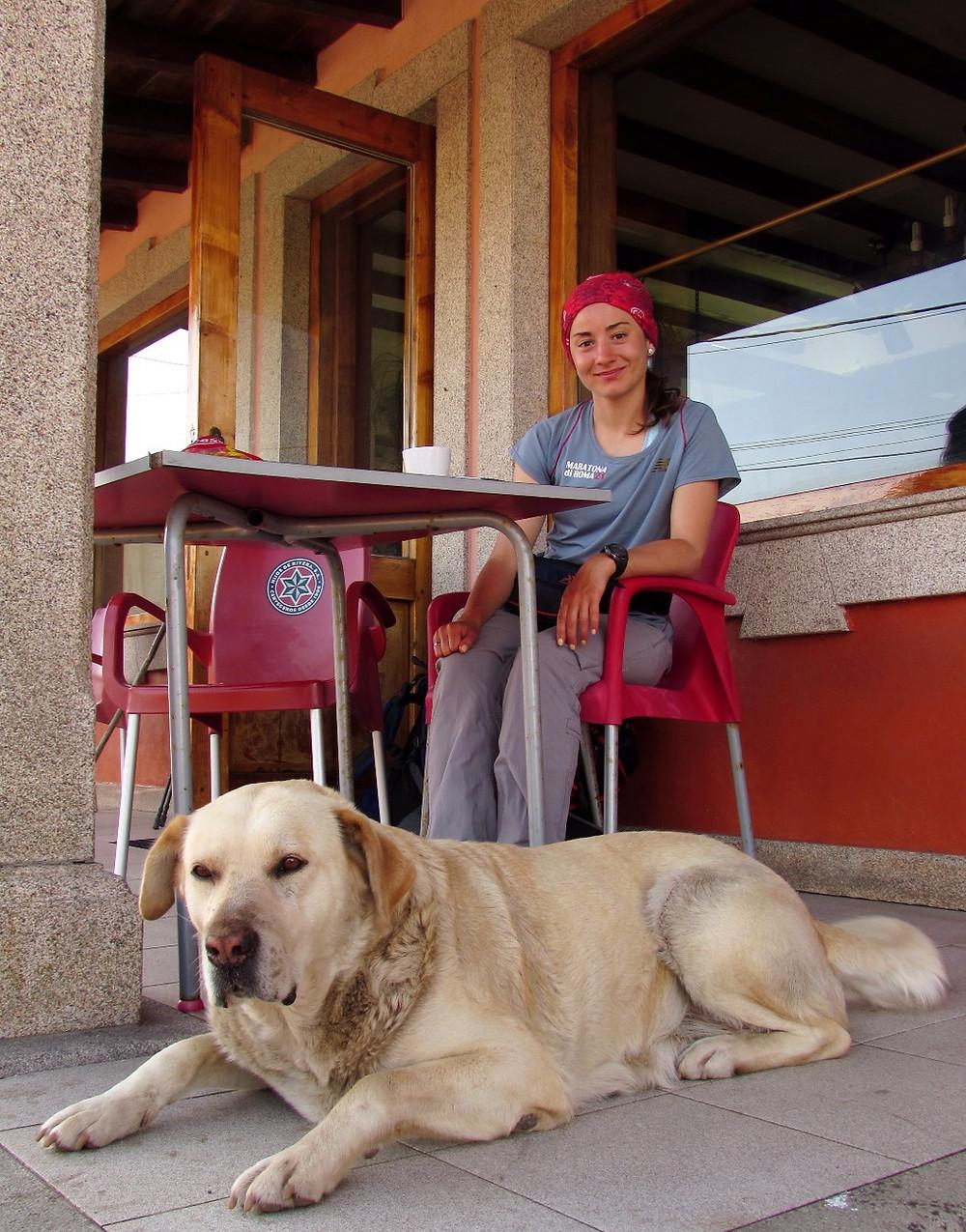 Пилигрим и собака
