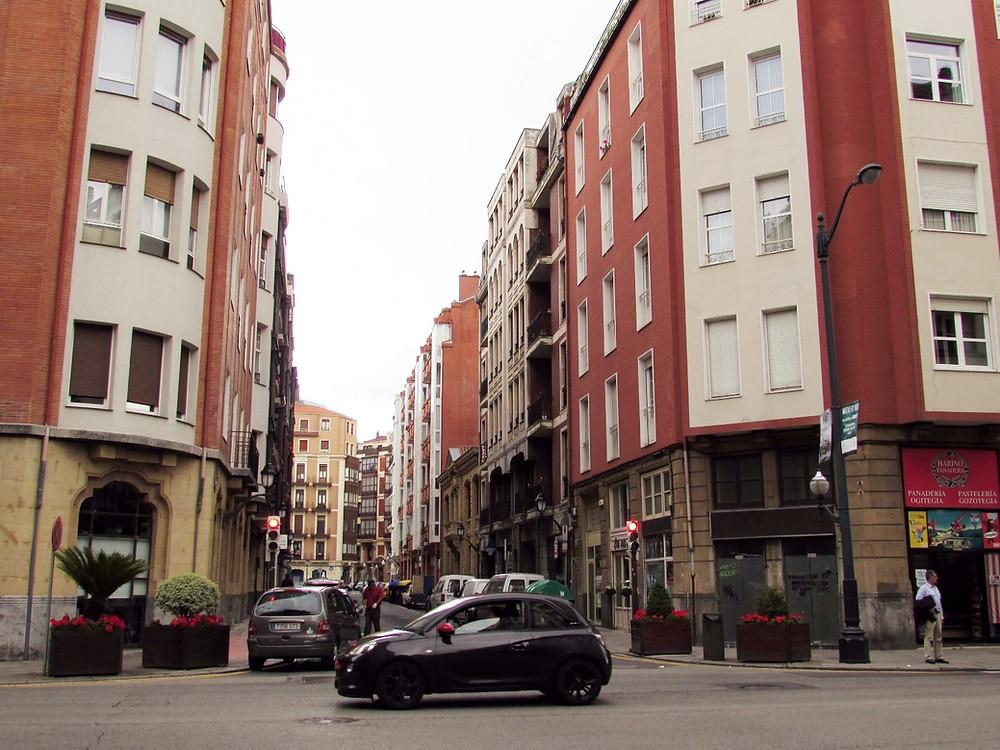 Улицы Бильбао