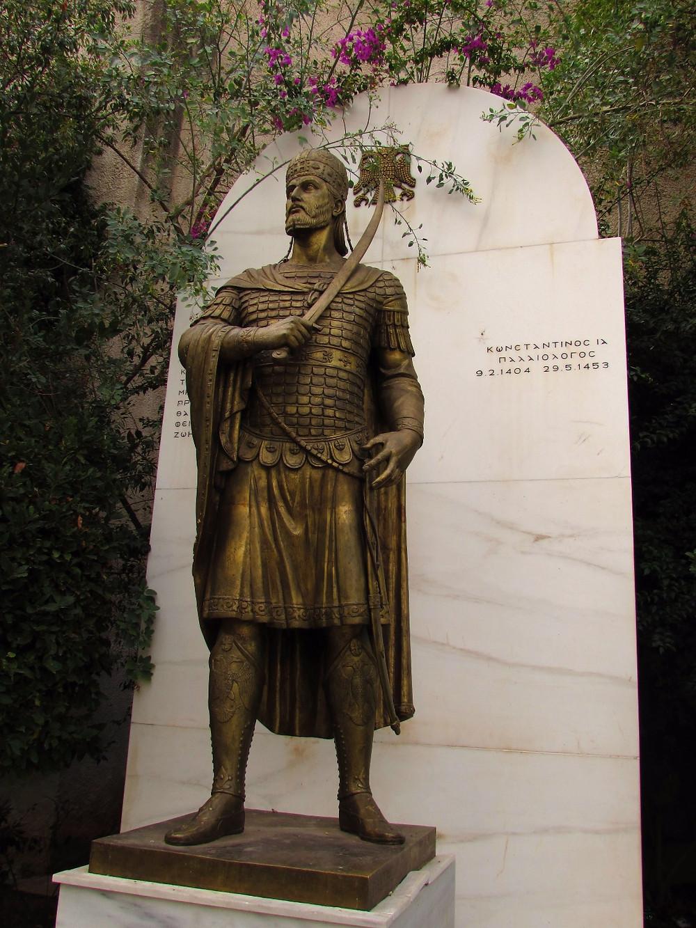 Памятник последнему византийскому императору