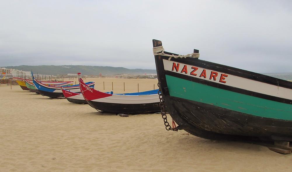 Лодки в Назаре