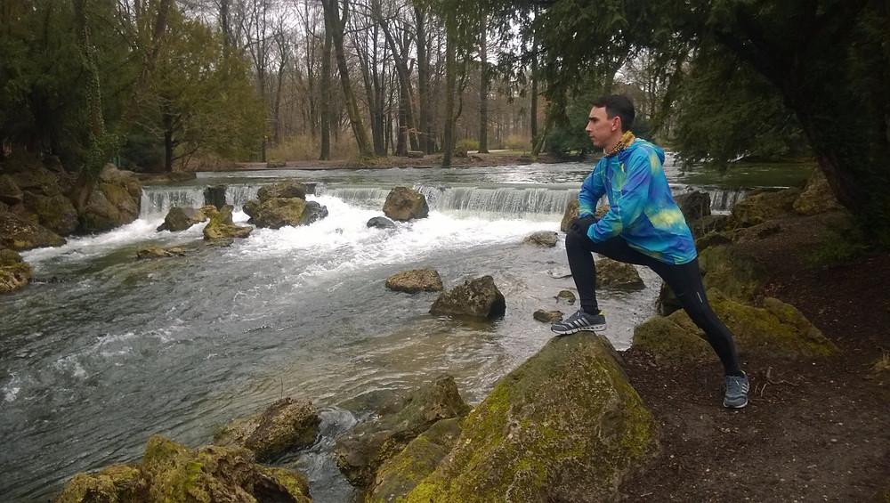 На берегу реки Айсбах