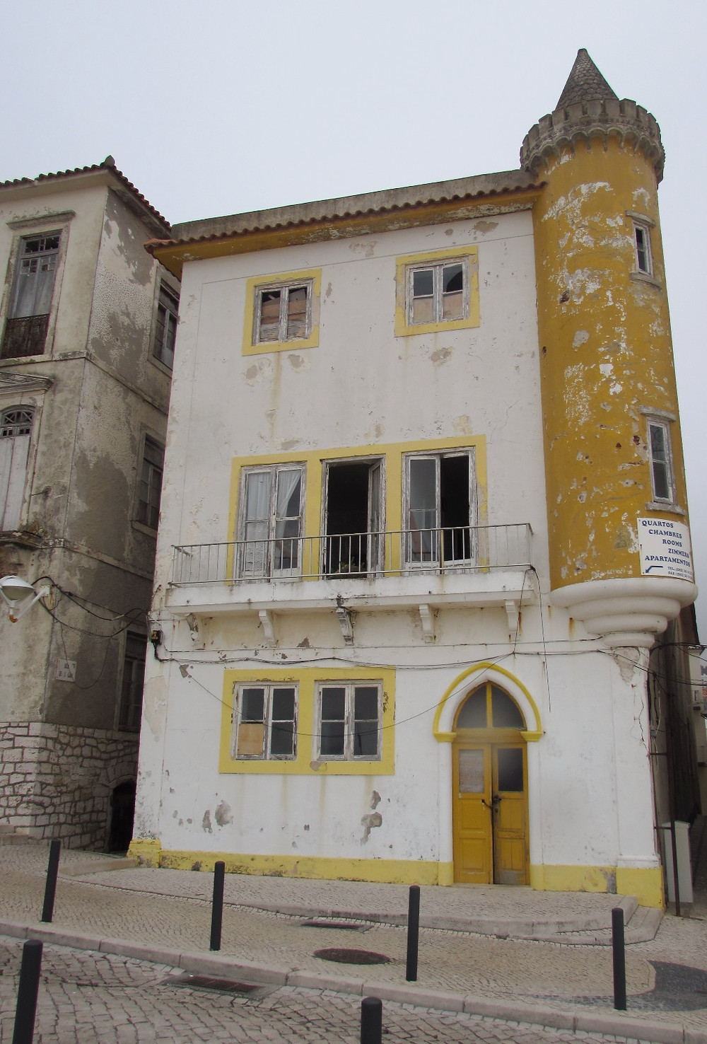 Старый дом в Назаре
