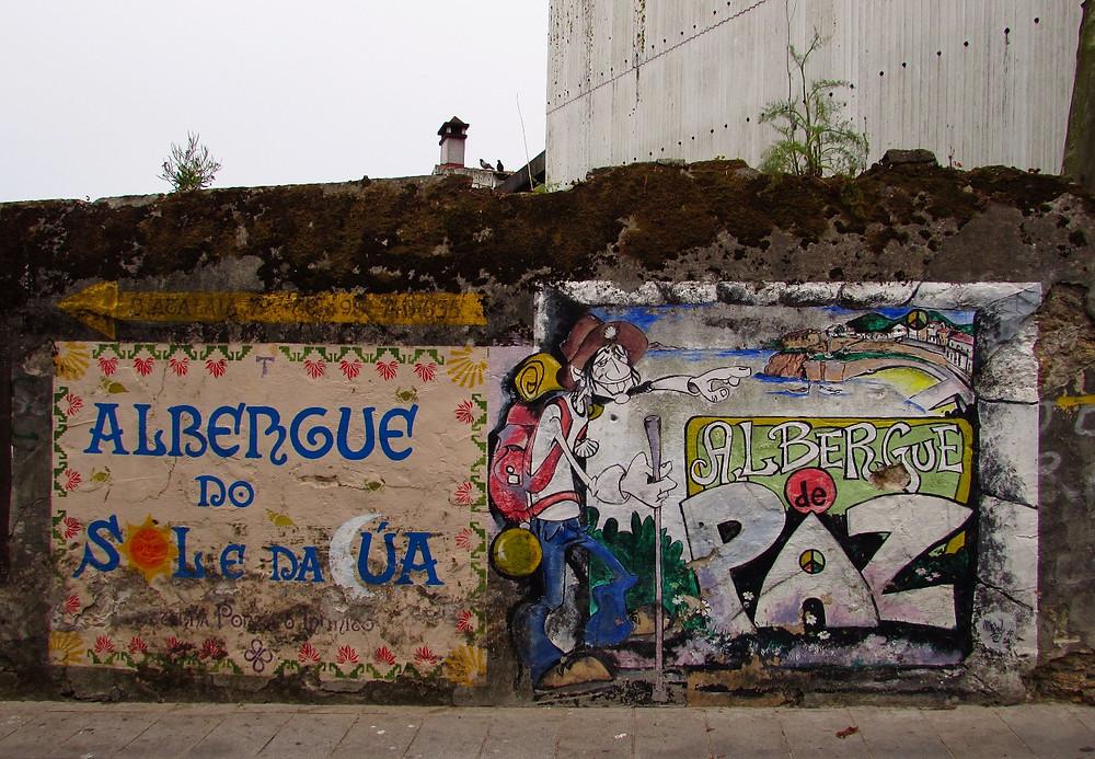 Графити в Финистерре