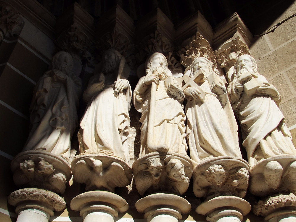 Фигуры апостолов
