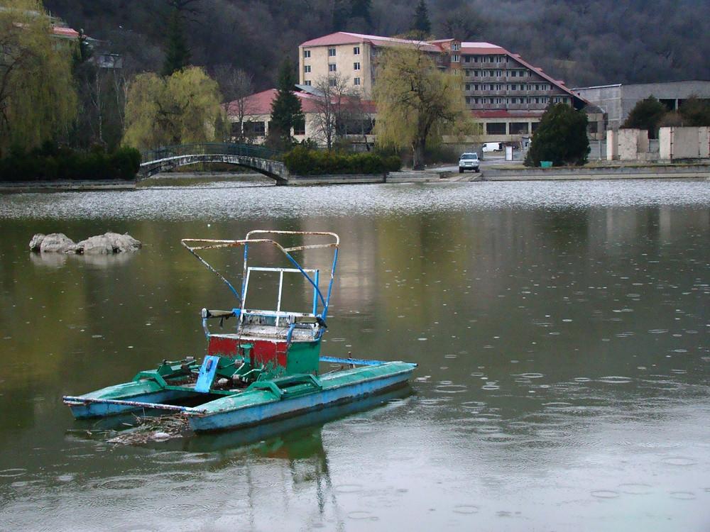 Озеро в Дилижане