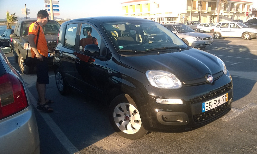 Наш Fiat Panda