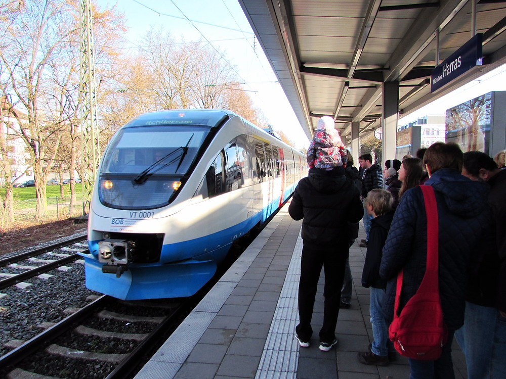 Пришел наш поезд