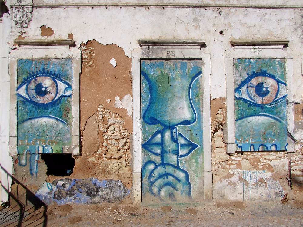 Граффити в Фару