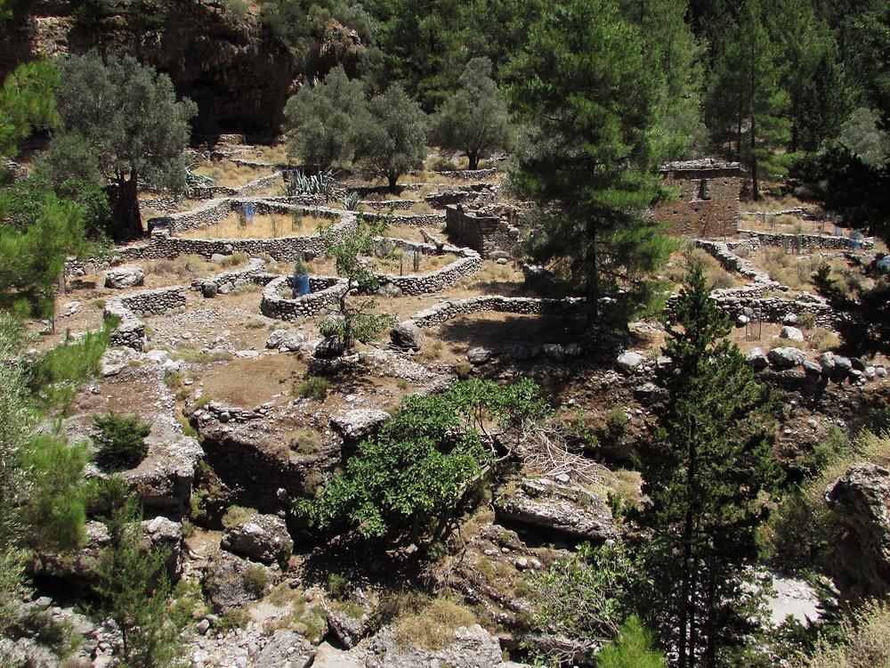 Заброшенная деревня Самария