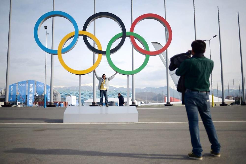 Фото в Олимпийском парке