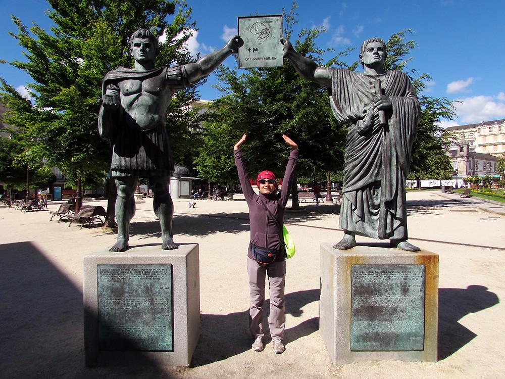 Памятник римлянам