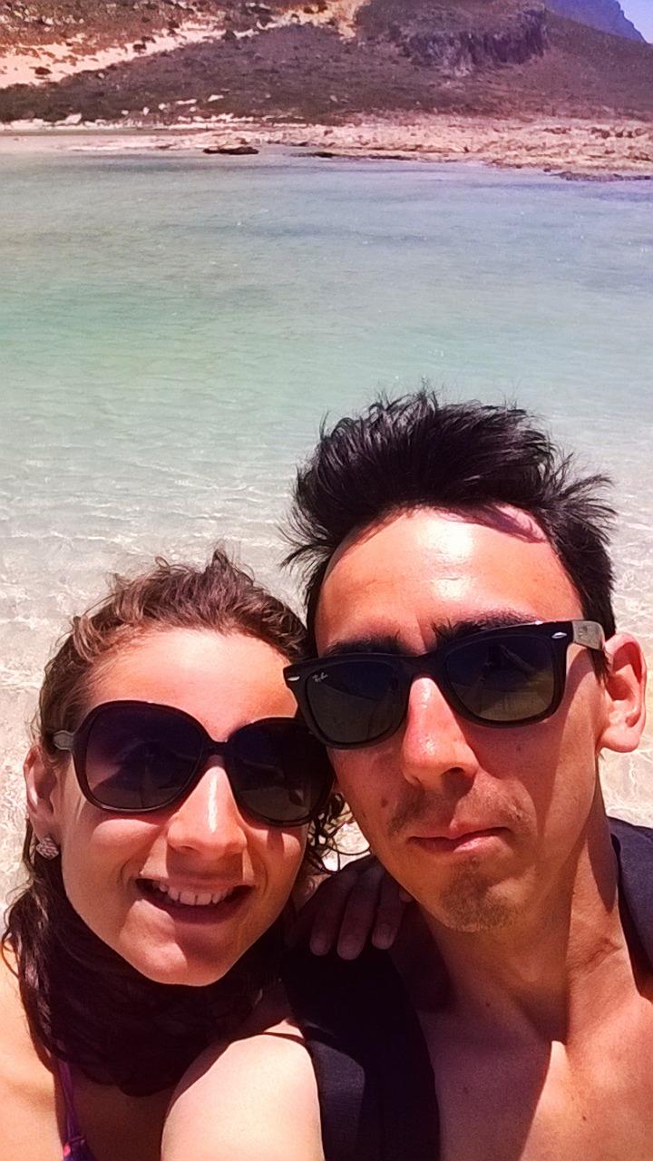 В бухте Балос