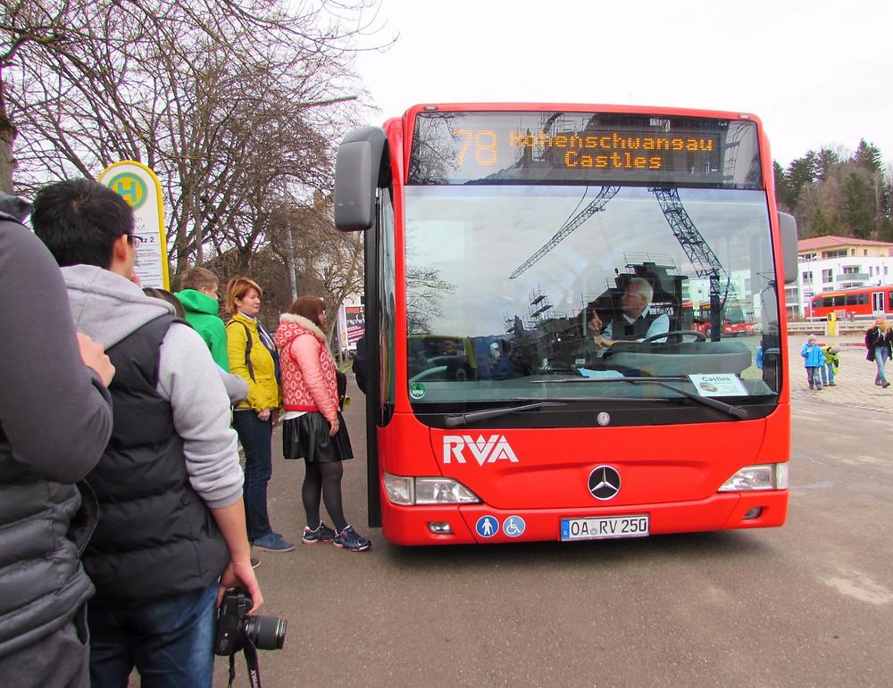 Автобус №78 до Хоэншвангау