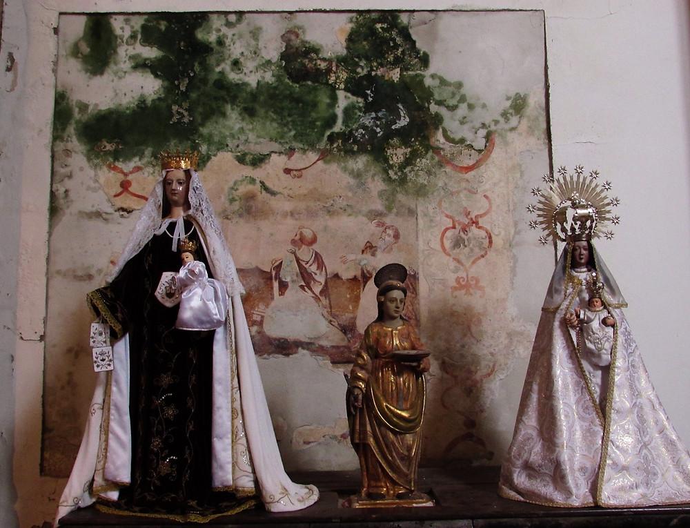 Фигурки святых