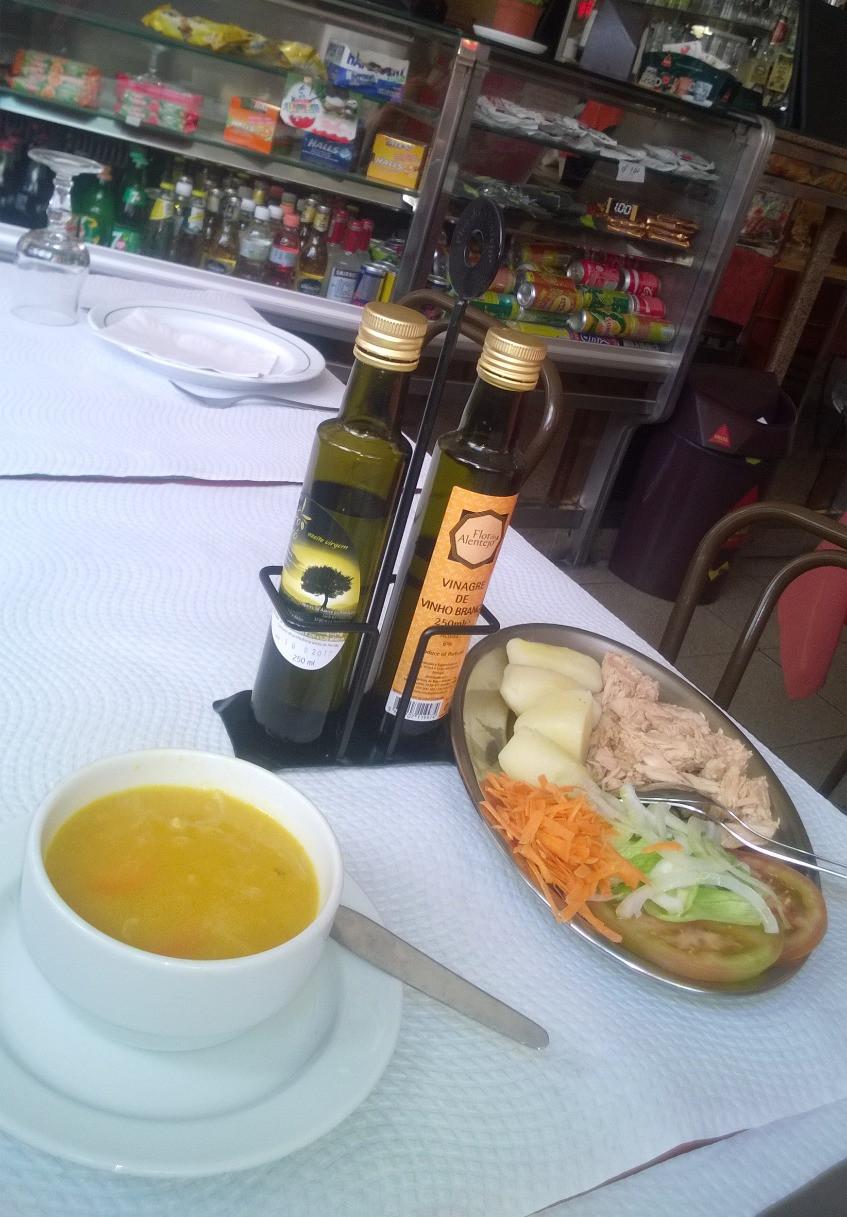 Португальский обед