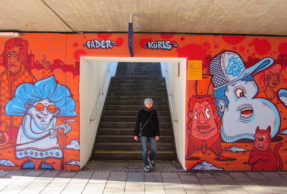 Мюнхенские граффити