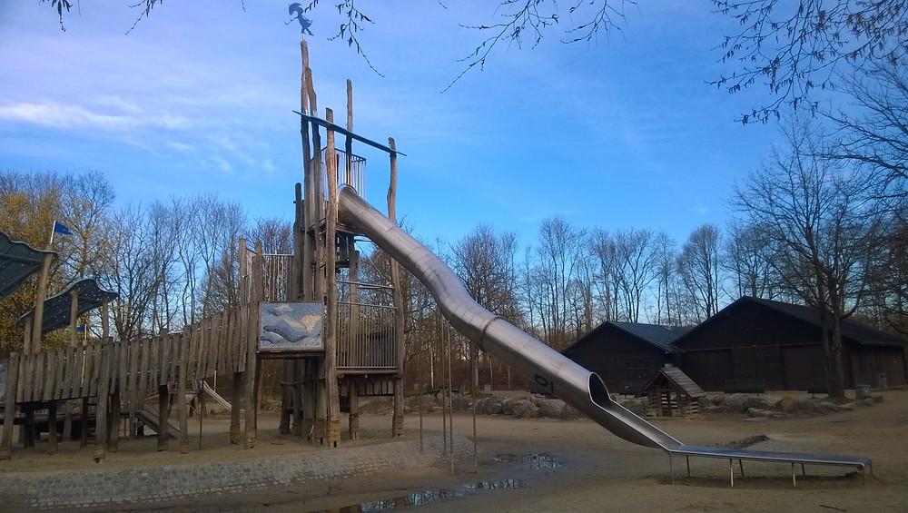 Детская площадка в Westpark