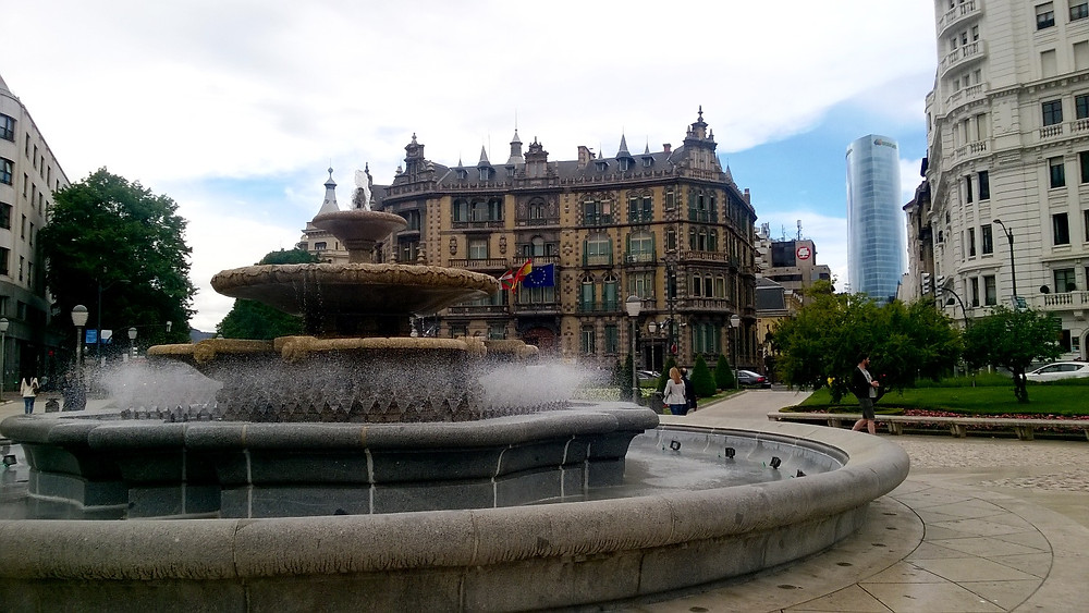 Центр Бильбао