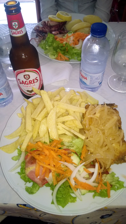 Обед в Назаре