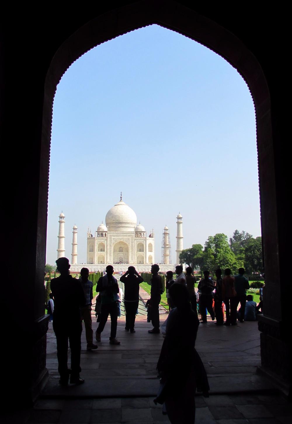 Тадж-Махал в арке