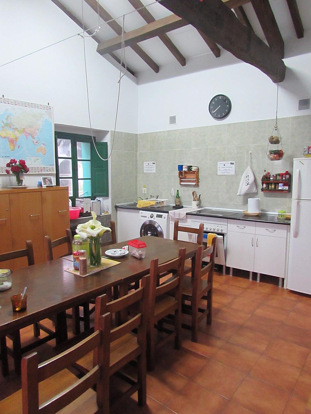 Кухня в альберге