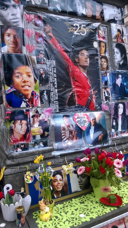 """""""Памятник"""" Майклу Джексону"""