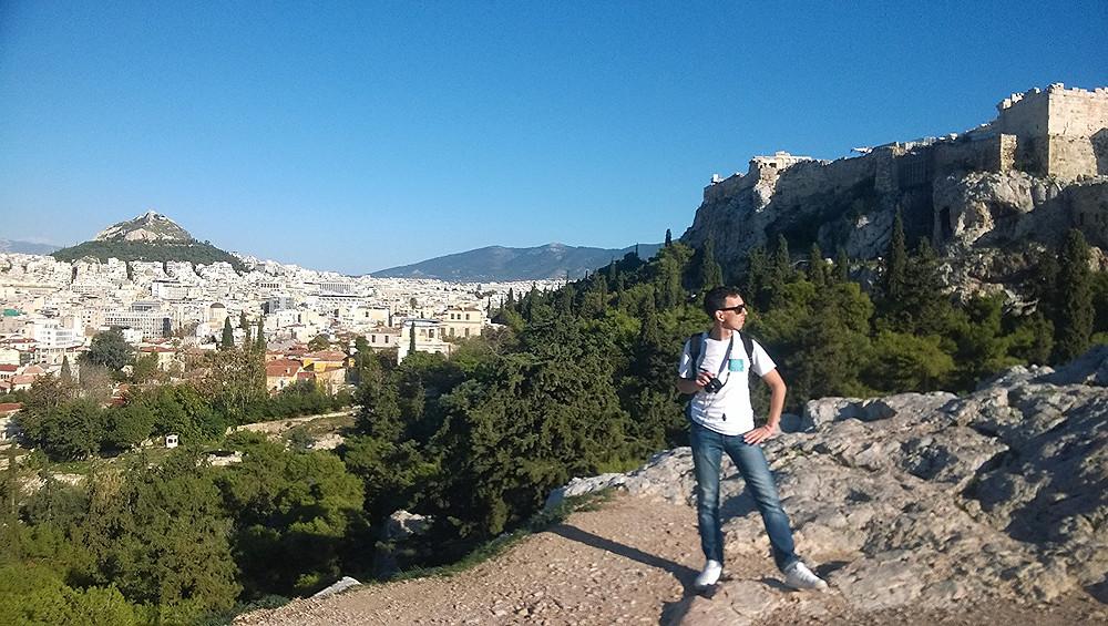 На вершине Ареопага