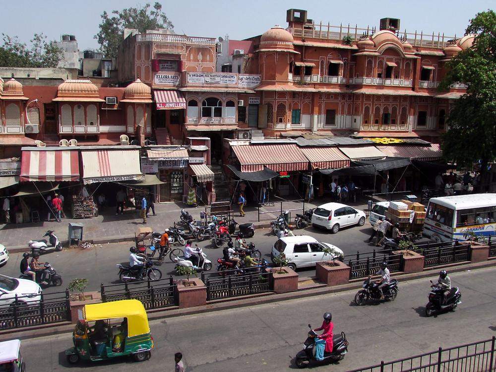 Улицы Джайпура