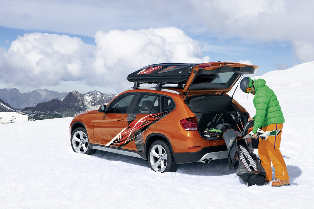 BMW для горнолыжников