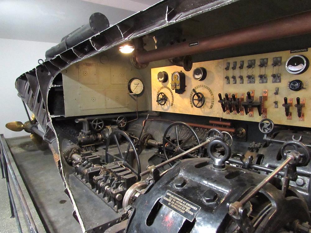 Немецкий музей - подводная лодка U1